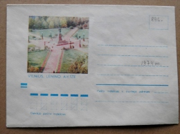 Cover From Lithuania, USSR Occupation Period, Musical Instrument 1974 896 Vilnius Lenin Square - Lituanie