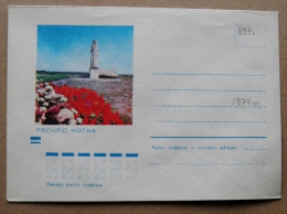 Cover From Lithuania, USSR Occupation Period, Musical Instrument 1974 897 Monument Pirciupiai - Lituanie