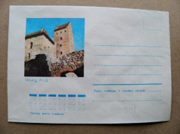 Cover From Lithuania, USSR Occupation Period, Musical Instrument 1974 901 Trakai Castle - Lituanie