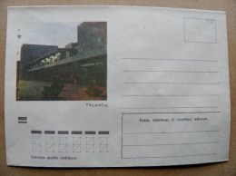 Cover From Lithuania, USSR Occupation Period, Musical Instrument 1974 915 Palanga - Lituanie