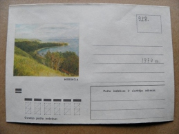 Cover From Lithuania, USSR Occupation Period, Musical Instrument 1974 928 Neringa - Lituanie