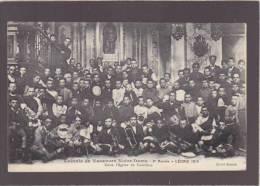 Ariege - Castillon - Colonie De Vacances Notre Dame D'Argein Dans L'église , Musique Trompettes - Other Municipalities