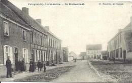 WORTEGEM-PETEGEM Bij Oudenaarde - De Statiestraat - Reclame Verhuiizingen L. Totte Borgerhout - Wortegem-Petegem