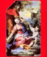 Scheda Telefonica - USATA - RARA - VATICANO Golden 7 - C & C 6007 - Musei Vaticani - SACRA FAMIGLIA - Vatican