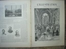L�ILLUSTRATION 2927 ETHIOPIE/ BURGOS/ HARAS POMPADOUR/ FINLANDE/ LIGNE  D�ORLEANS  1 er avril 1899
