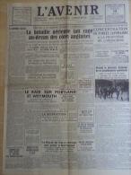 Journal L'avenir du Plateau Central 13 Aout 1940 Offensive Germanique Forces Japonaises La D�p�che D�mocratie