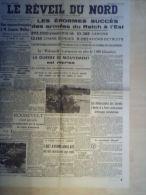 Journal Le Reveil du Nord 6 Aout 1941 Arm�es du Reich  Indochine