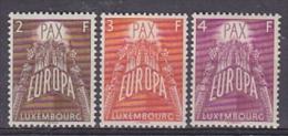 Europa Cept 1957 Luxemburg 3v ** Mnh (original Gum) (16743) - Europa-CEPT