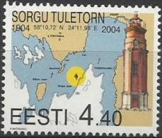 EE 2004-478 LIGHTHOUSE, ESTONIA, 1 X 1v, MNH - Estland