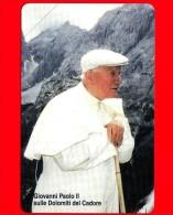 Scheda Telefonica - Nuova - VATICANO N. 100 - C&C 6100 - Giovanni Paolo II Sulle Dolomiti Del Cadore - Vatican