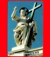 Scheda Telefonica - Nuova - VATICANO N. 90 - C&C 6090 - Cristo Redentore, Basilica Di San Pietro - Vatican
