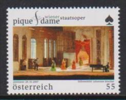 """DV 2323) Österreich 2007 MiNr 2691 **: Premiere Der Oper """"Pique Dame"""" In Der Wiener Staatsoper (P. Tschaikowski) - Musik"""