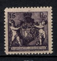 Liechtenstein 1921 Unif. 51B */MH VF/F - Unused Stamps