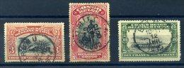 CONGO BELGE 1910 N� 61/ 63 OBLITERES BEAUX