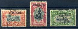 CONGO BELGE 1900 N� 47/ 49 OBLITERES TB