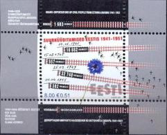EE 2007-587 DEPORTATION FR EE, ESTONIA, S/S, MNH - Estland