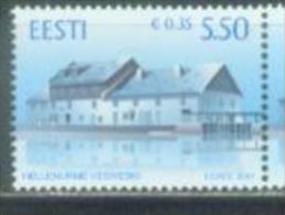 EE 2007-592 WATERMHUL, ESTONIA, 1 X 1v, MNH - Estland