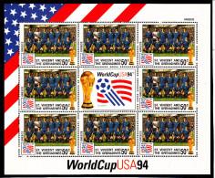 Football - Soccer World Cup 1994 - ST. Vincent - Sheet Team Greece** - World Cup