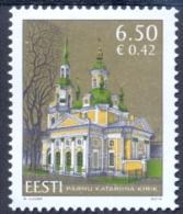 EE 2010-659 CHURCH, ESTONIA, 1 X 1v, MNH - Estland