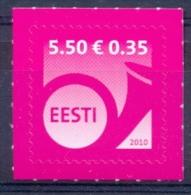 EE 2010-660 DEFINITIVE, ESTONIA, 1 X 1v, MNH - Estland