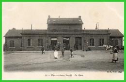 - FOURMIES (Nord) La Gare (recto Verso) - Fourmies