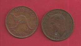 AUSTRALIA  1940 1 Penny Bronze KM 36 C314 - Sterling Coinage (1910-1965)