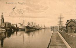 ALLEMAGNE - BREMERHAVEN - Hafenpartie - 1913 - Très Bon état - 2 Scans - Bremerhaven