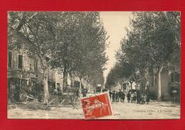 CPA 13 SAINT ANDIOL AVENUE D'AVIGNON BELLE ANIMATION - France