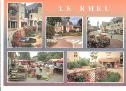 Le Rheu (Vezin-le-Coquet-Rennes-Ille Et Vilaine)-Nouveau Centre-ville-Multivues-Marché Aux Fleurs Et Légumes-Papeterie - Rennes