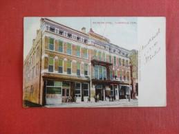 Tennessee> Clarksville  Arlington  Hotel   Top Center Year Scotch Tape On Back -1472 - Clarksville