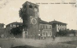 FELETTO CANAVESE p.zza UMBERTO 1 e municipio  VG N1914