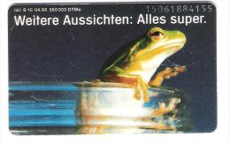 Deutschland - S 10/95 - Aral - Allres Super - Frosch - Frog - Germany