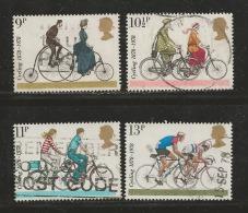 UK 1978 Used Stamp(s) Cyclist Touring Club Nrs. 773-776 #14420 - 1952-.... (Elizabeth II)