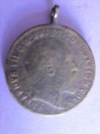 MEDAILLE 1902 ROI  EDWARD 7 / MARQUAGE DG BRITT CORONATION COIN - Royal/Of Nobility