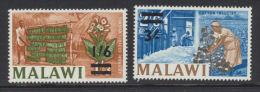 Malawi  1965  1/6 On 1/3 And 3/- On 2/6    * MVLH - Malawi (1964-...)