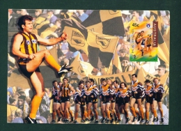 AUSTRALIA  -  Aussie Rules Football  Used Postcard Mailed To Ireland  As Scans - Autres