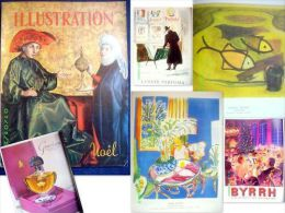 """Revue """"FRANCE ILLUSTRATION"""" Numéro 405 Special Noel 1953 Matisse Braque Picasso Peinture Malerei Painting Art Publicité - Arte"""
