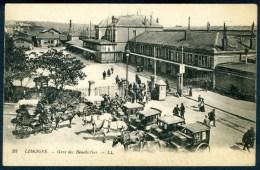 CPA  LIMOGES - Gare Des Bénédictins - Limoges