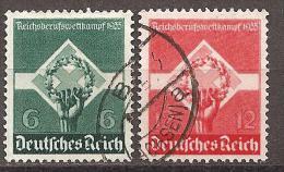Michel 571/572 O - Deutschland