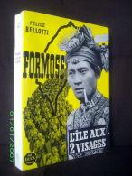 """FORMOSE Ile Aux 2 Visages"" Taiwan Formosa Ethnologie Asie Asia Asien Isle Island 1959 ! - Geografía"