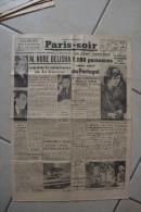 PARIS-SOIR du 7 janvier 1940-Hore Belisha quitte ministere guerre-entretiens Ciano-Csaky a Venise