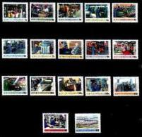 BOPHUTHATSWANA, 1985, MNH Stamp(s), Definitives Serie Industry, Nr(s)  148-164 - Bophuthatswana
