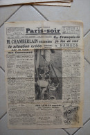PARIS-SOIR du 10 mai 1940-le general Ruge arrete offensive allemande vers nord-Chamberlain
