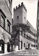 Cartolina SIENA - Palazzo Chigi Saracini Accademia Chiagiana