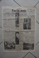 PARIS-SOIR -8 janvier 1940-il y a 8 ans mourait le pere de la ligne-maman A.Maginot parle de son fils