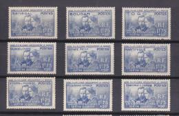 SERIE - 1938..................... Pierre Et Marie CURIE.................... ...complète Neuf -SANS CHARNIERES - 2 Scans - 1938 Pierre Et Marie Curie