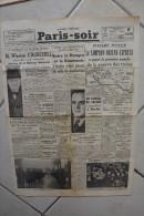 PARIS-SOIR -9 janvier 1940-malgre Hitler le Simplon-Orient-Express a gagne 1� manche guerre des trains