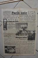 PARIS-SOIR -13 janvier 1940-Afrique noire presente