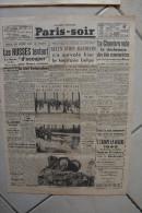 PARIS-SOIR -17 janvier 1940-la hollande prepare ses barricades de glace