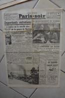 PARIS-SOIR -7 mai 1940-bombardement Namos-premier documents photographiques